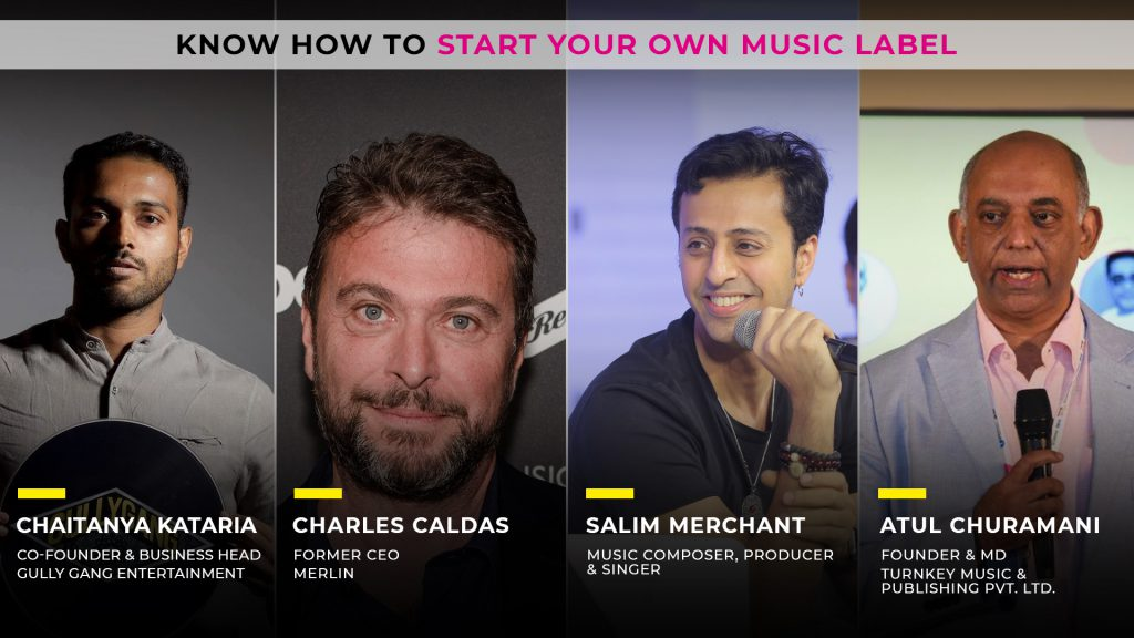 Create your own label, Brand, Discussion with singer Salim Marchant